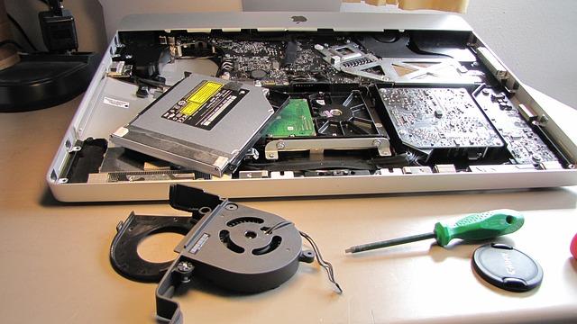 pièces d'ordinateur